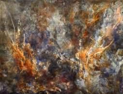 Rubedo – Acrylique sur toile – 86×66 cm