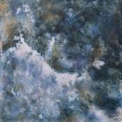 La vague – Acrylique sur toile – 80×80 cm