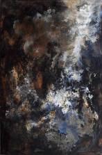 Cosmos 01 Acrylique sur toile – 63×95 cm